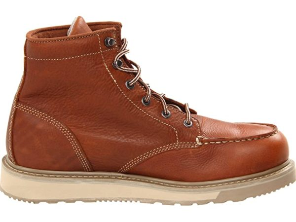"TIMBERLAND MEN'S 6"" BARSTOW WEDGE BOOT MOC SOFT TOE"