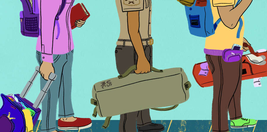 Be packed and ready like a military personnel.